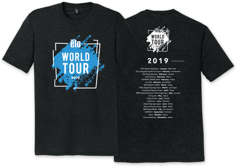 ELO 2019 World Tour Shirt